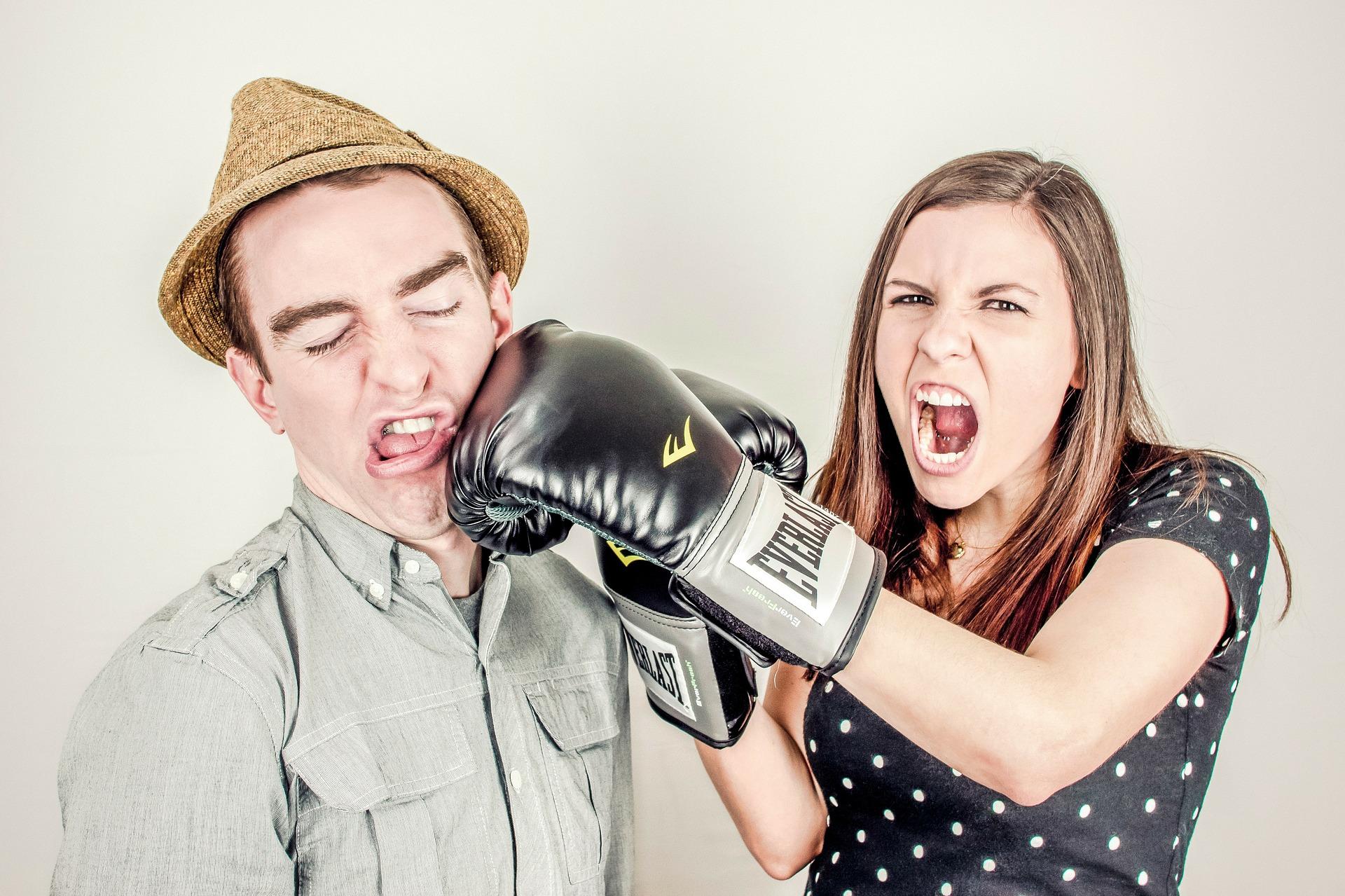 Streit Streß Ärger