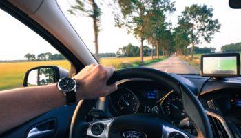 Autofahrt Außendienst Pharma