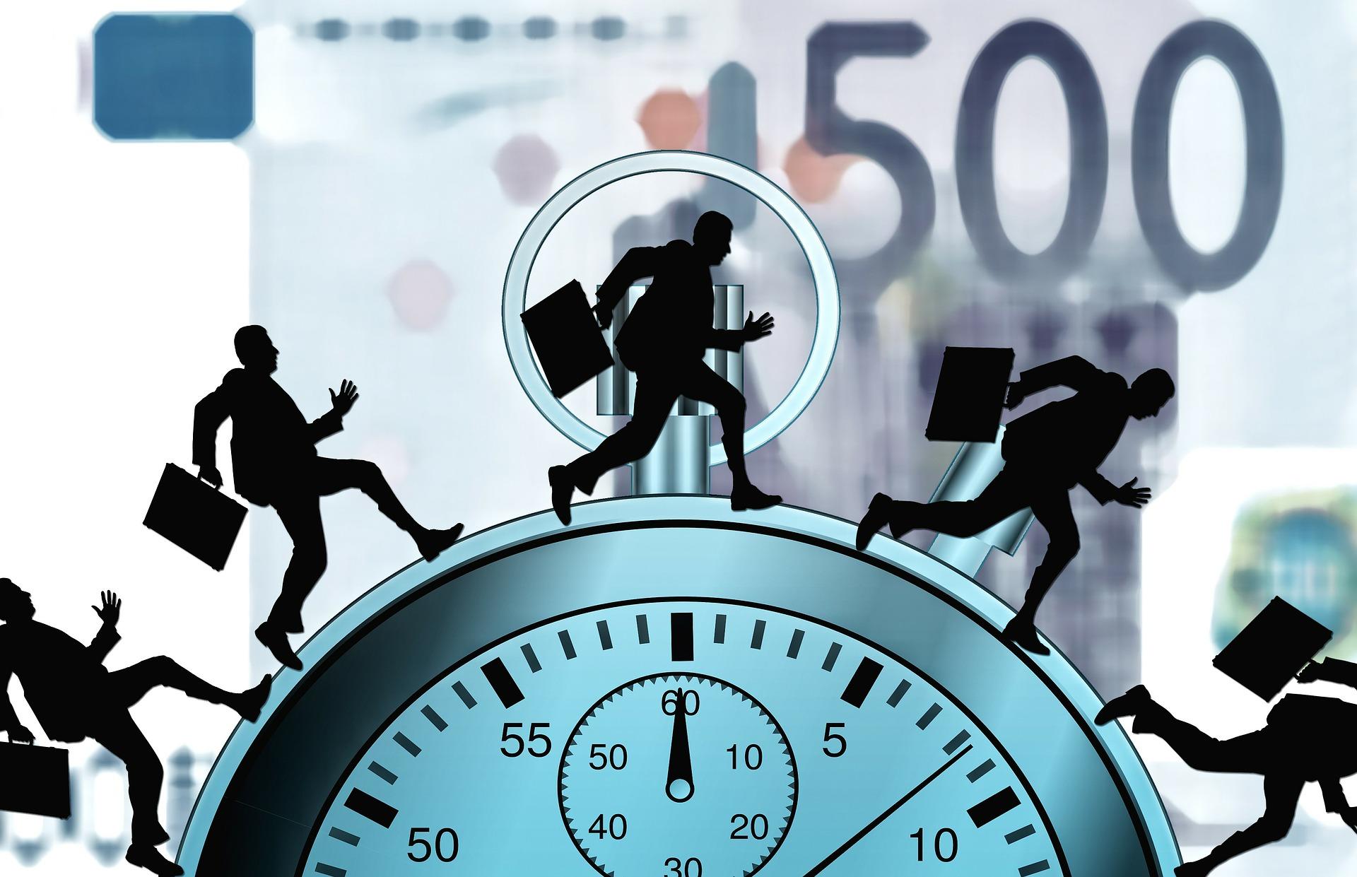 Stress Clock Time Clock