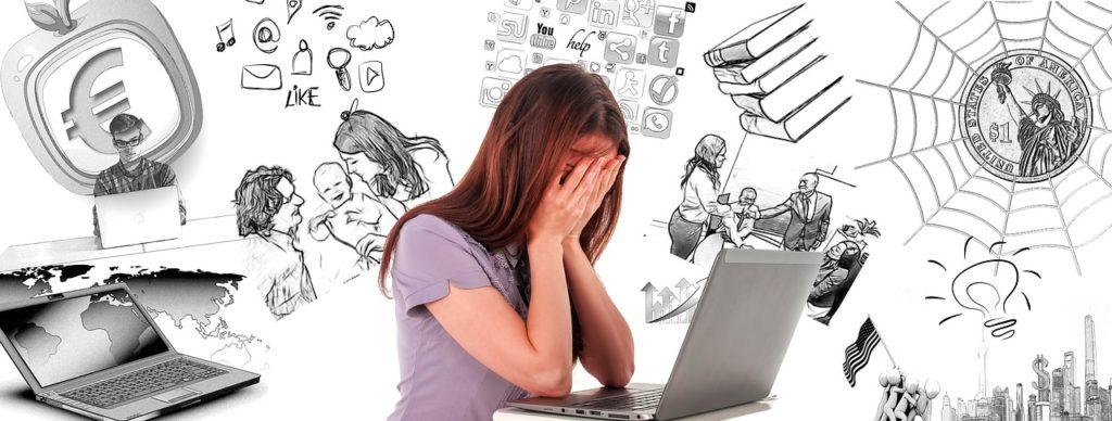 Stress und Sorgen