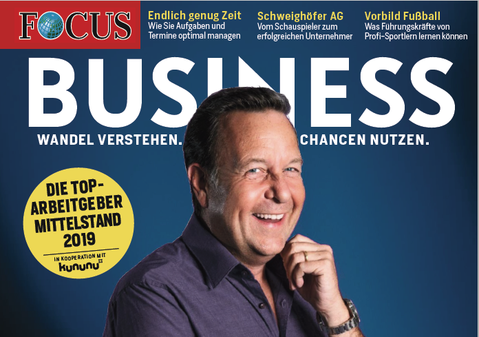Top-Arbeitgeber: Cover FOCUS Business 04-18